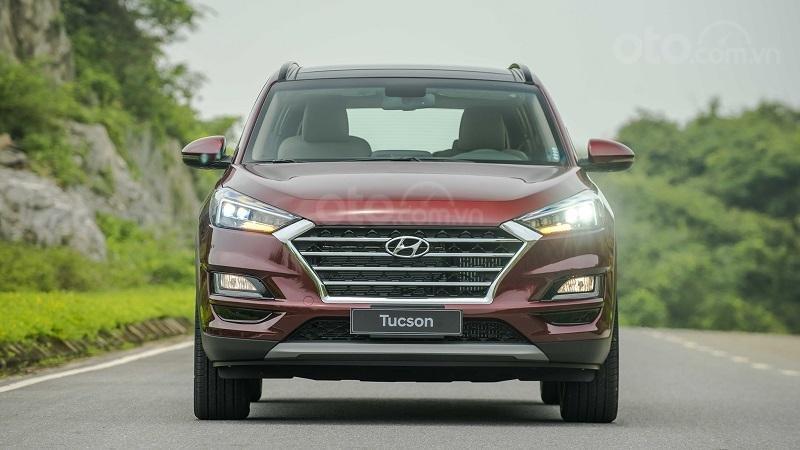 Đầu xe Hyundai Tucson 2019...