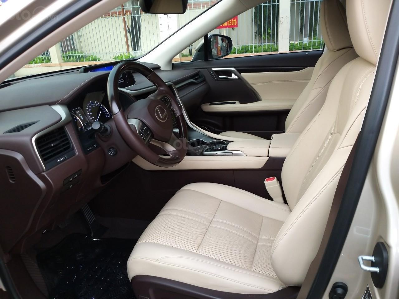 Lexus RX 350 model 2016, màu kem, nhập khẩu chính hãng, xe nhà ít sử dụng còn mới toanh, 3 tỷ 520 triệu-4