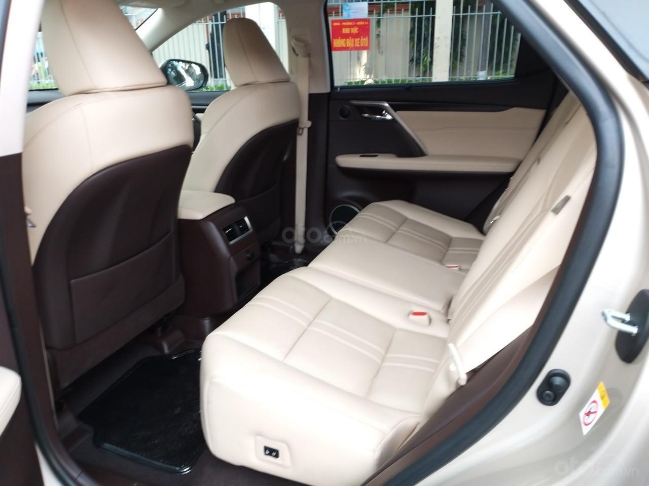 Lexus RX 350 model 2016, màu kem, nhập khẩu chính hãng, xe nhà ít sử dụng còn mới toanh, 3 tỷ 520 triệu-6