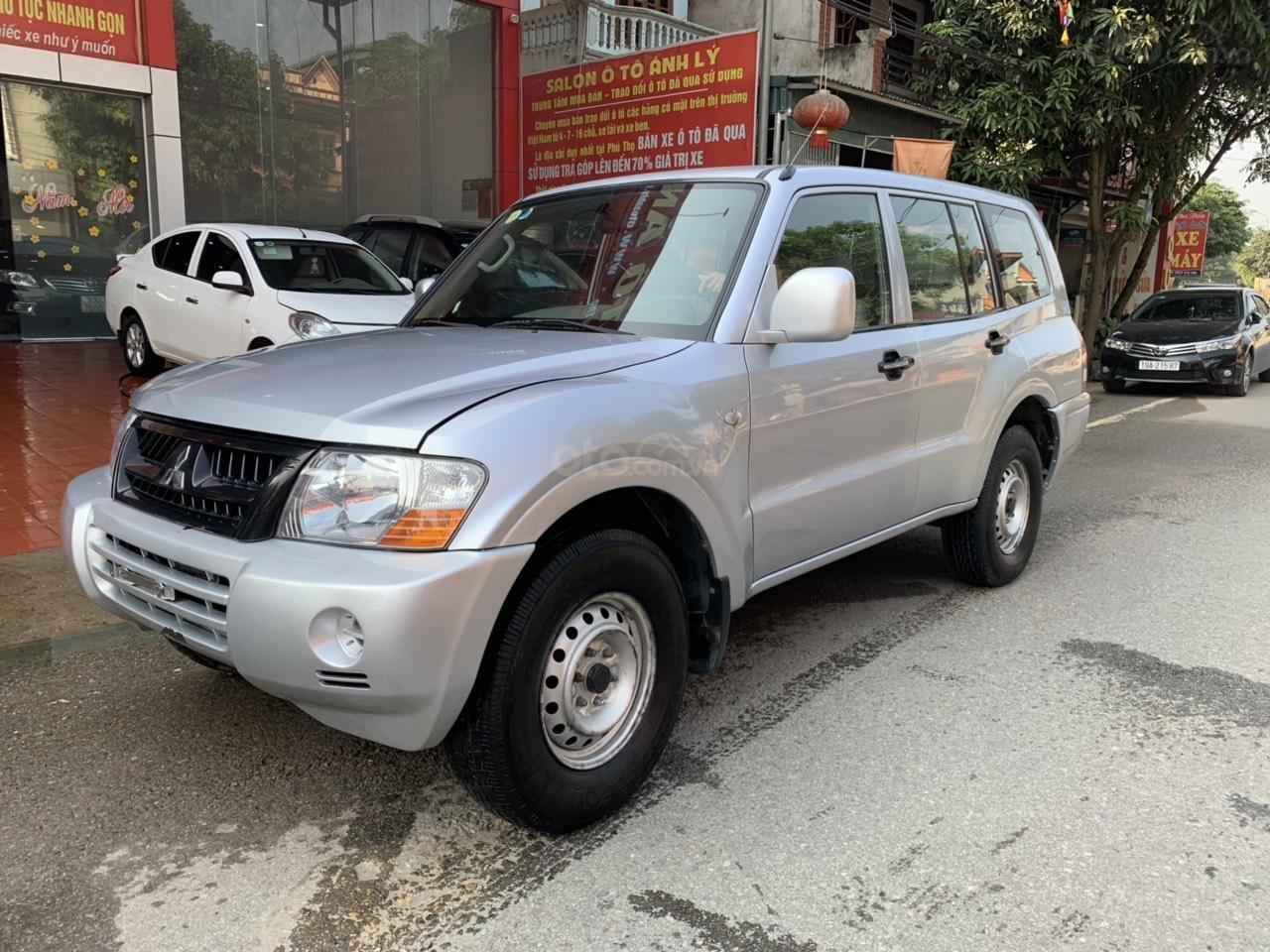 Cần bán xe Mitsubishi Pajero năm sản xuất 2006, màu bạc, nhập khẩu nguyên chiếc (2)