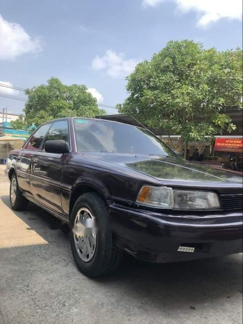 Cần bán gấp Toyota Camry MT đời 1988, nhập khẩu, máy móc dàn lạnh còn rất ngon-1