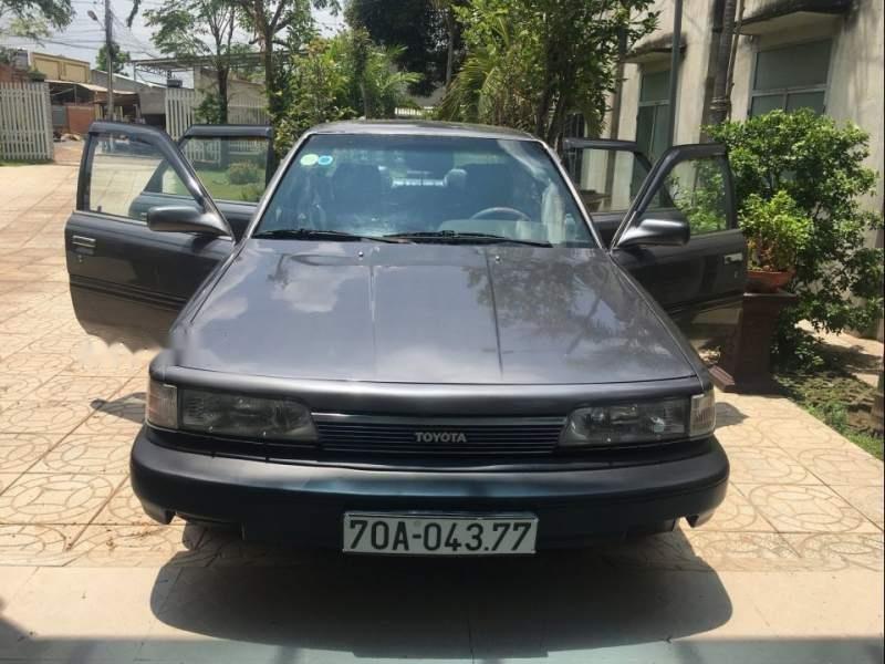 Bán ô tô Toyota Camry năm 1988, màu xám, xe nhập, 82 triệu-0