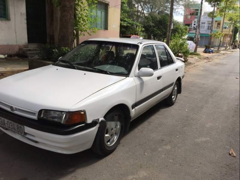 Bán ô tô Mazda 323 đời 1995, màu trắng, nhập khẩu nguyên chiếc-3