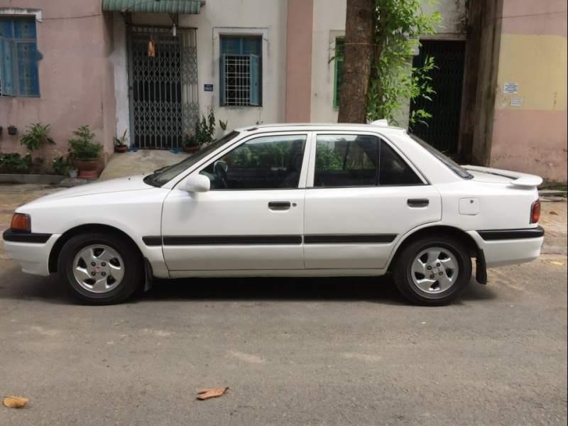 Bán ô tô Mazda 323 đời 1995, màu trắng, nhập khẩu nguyên chiếc-0