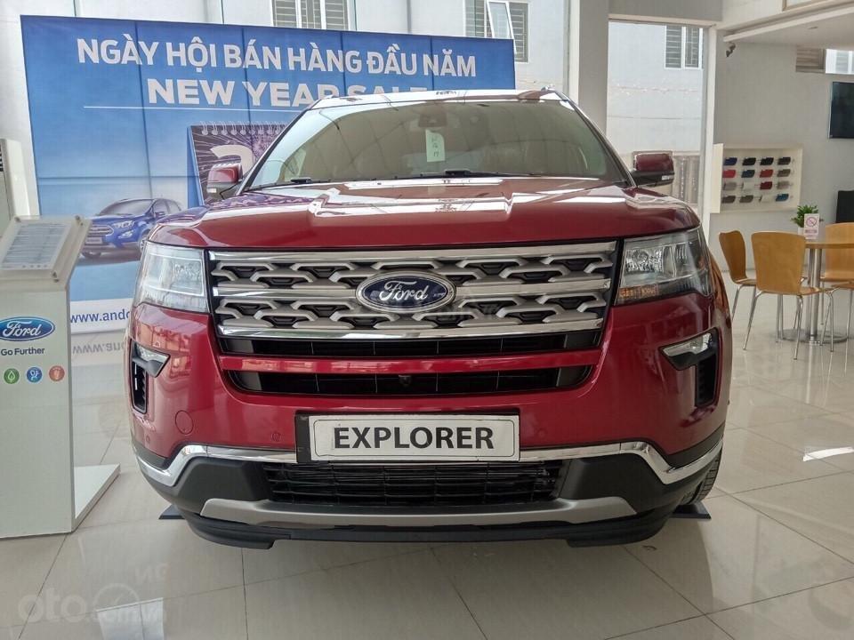 Xả kho đón Tết - Ford Explorer 2019 nhập khẩu nguyên chiếc tại Mỹ, giá cạnh tranh nhất thị trường, LH 0974286009 (1)
