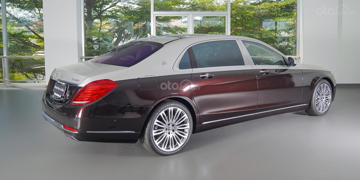 Bán Maybach Mercedes-Benz S500 màu ruby black beige, đi 39 km, nhập khẩu, mới 99%-2