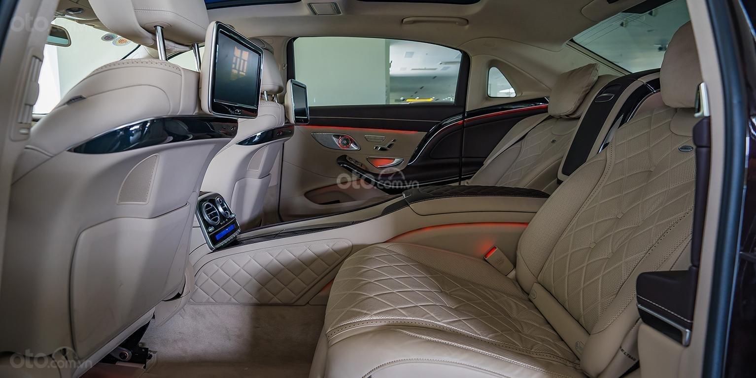 Bán Maybach Mercedes-Benz S500 màu ruby black beige, đi 39 km, nhập khẩu, mới 99%-5