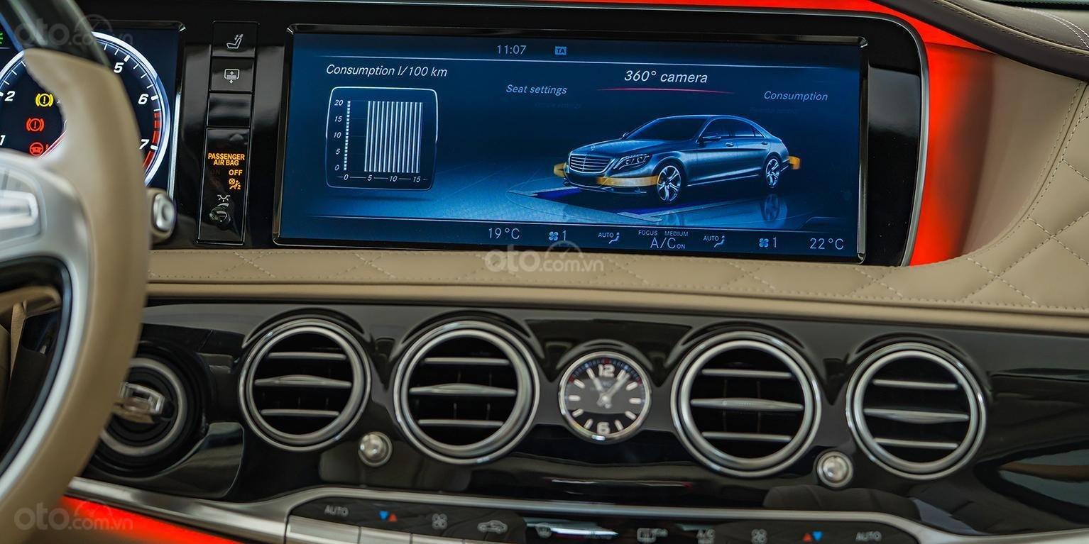 Bán Maybach Mercedes-Benz S500 màu ruby black beige, đi 39 km, nhập khẩu, mới 99%-7