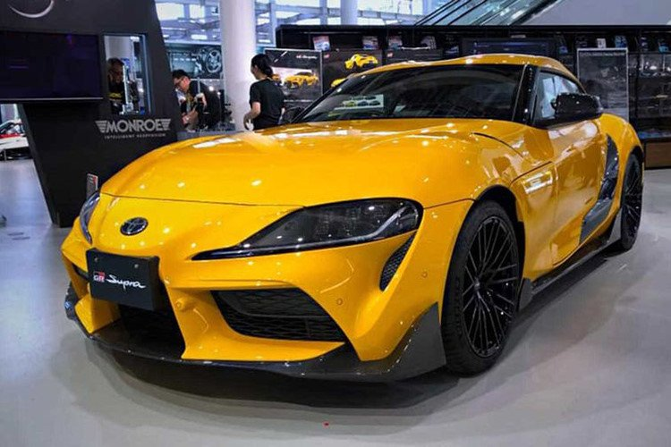 Toyota Supra 2020 thể thao hơn, mạnh mẽ hơn với gói độ TRD chính hãng a1