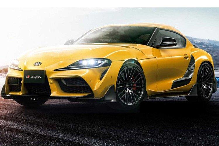 Toyota Supra 2020 thể thao hơn, mạnh mẽ hơn với gói độ TRD chính hãng a8