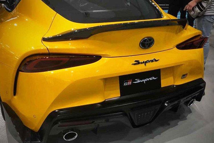 Toyota Supra 2020 thể thao hơn, mạnh mẽ hơn với gói độ TRD chính hãng a5