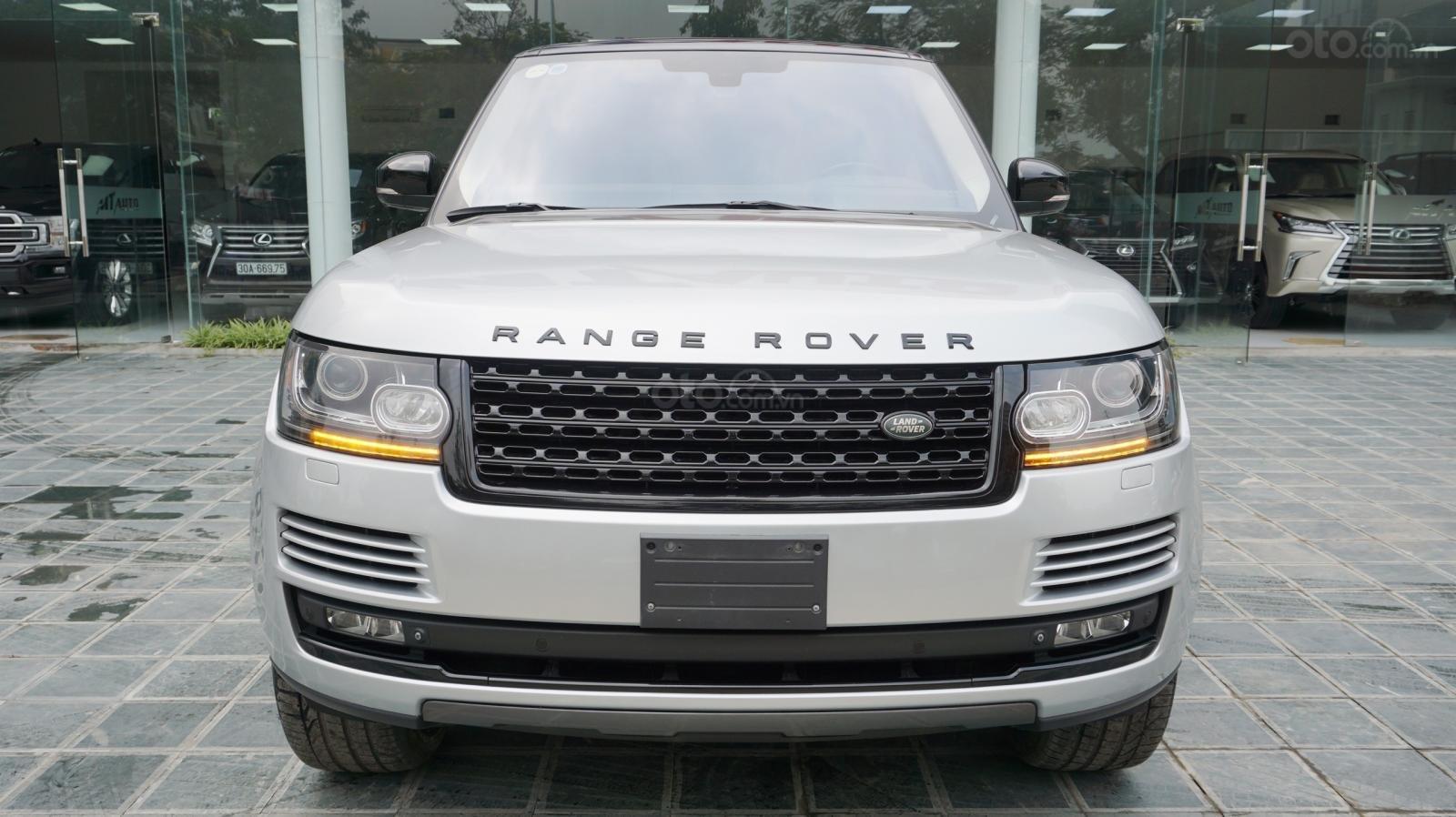 Bán LandRover Range Rover HSE đời 2015, màu bạc, nhập khẩu Mỹ. LH 0982.84.2838-0