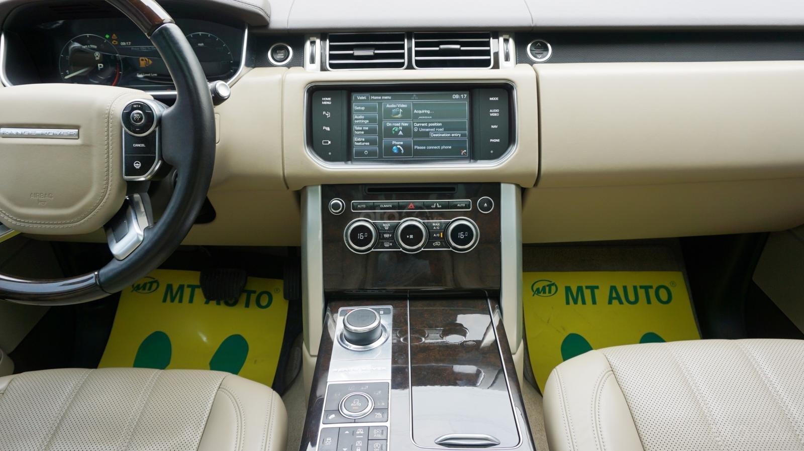 Bán LandRover Range Rover HSE đời 2015, màu bạc, nhập khẩu Mỹ. LH 0982.84.2838-17