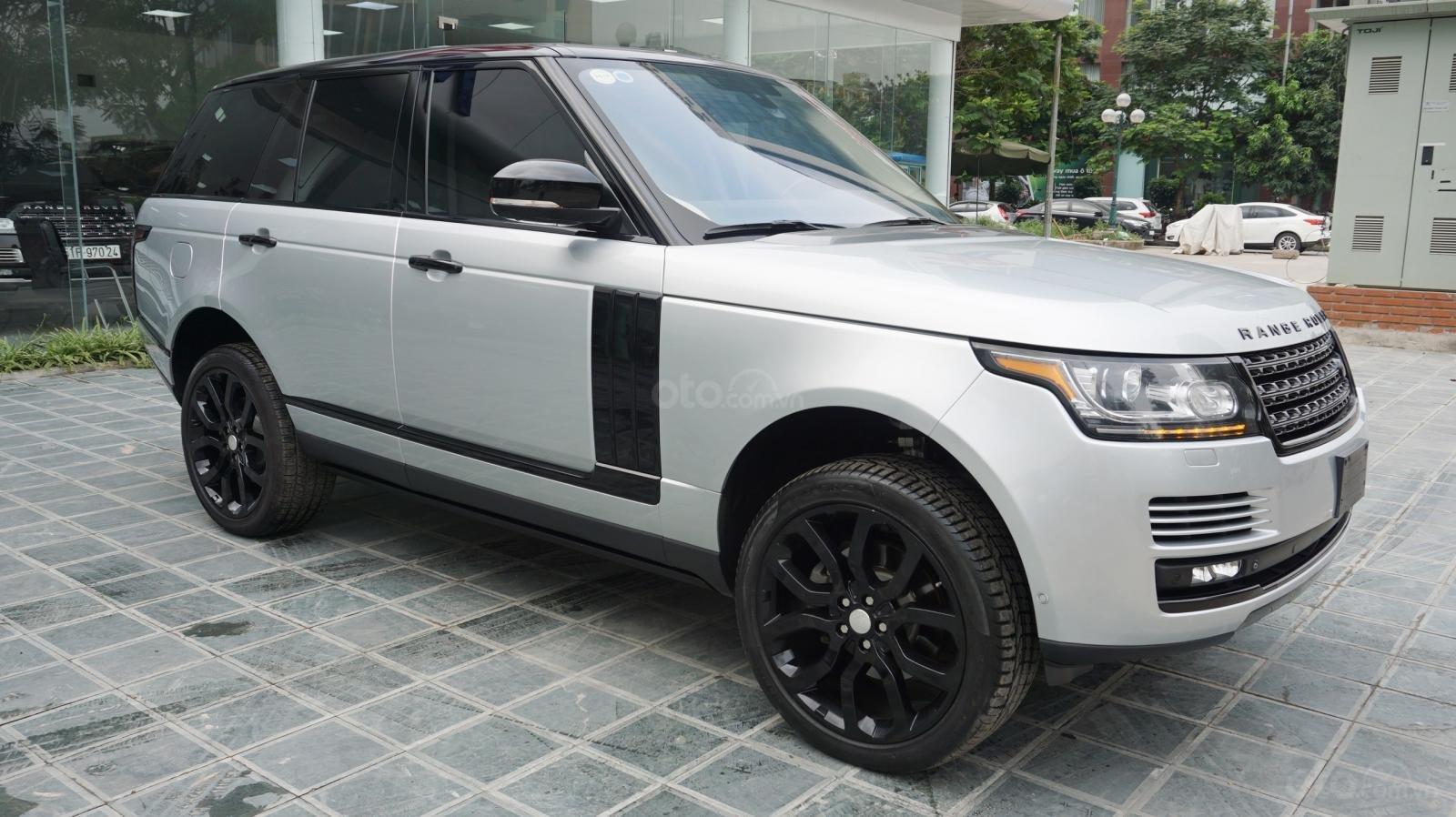 Bán LandRover Range Rover HSE đời 2015, màu bạc, nhập khẩu Mỹ. LH 0982.84.2838-7