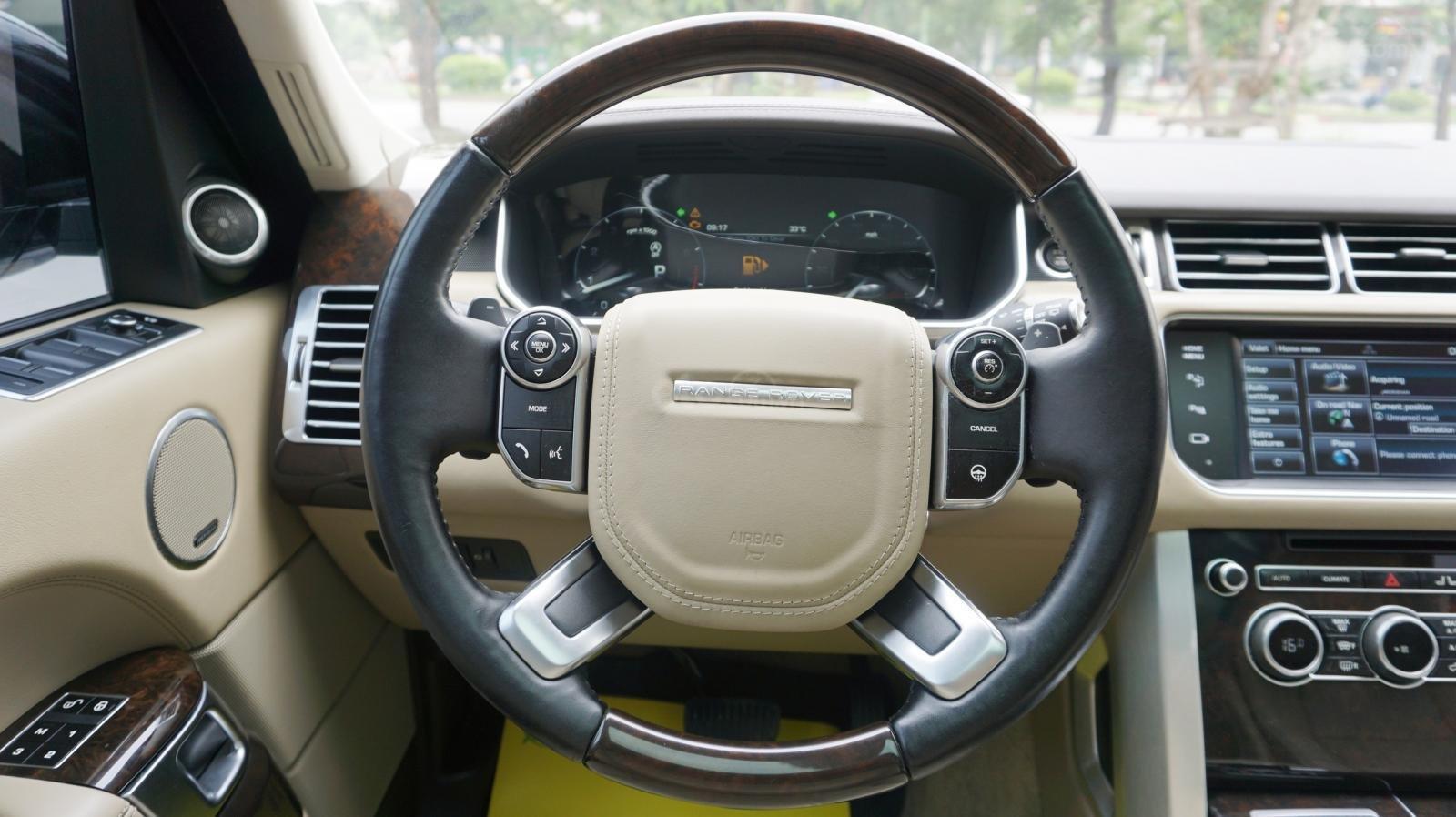 Bán LandRover Range Rover HSE 3.0 SX 2014, màu bạc, nhập khẩu nguyên chiếc-5