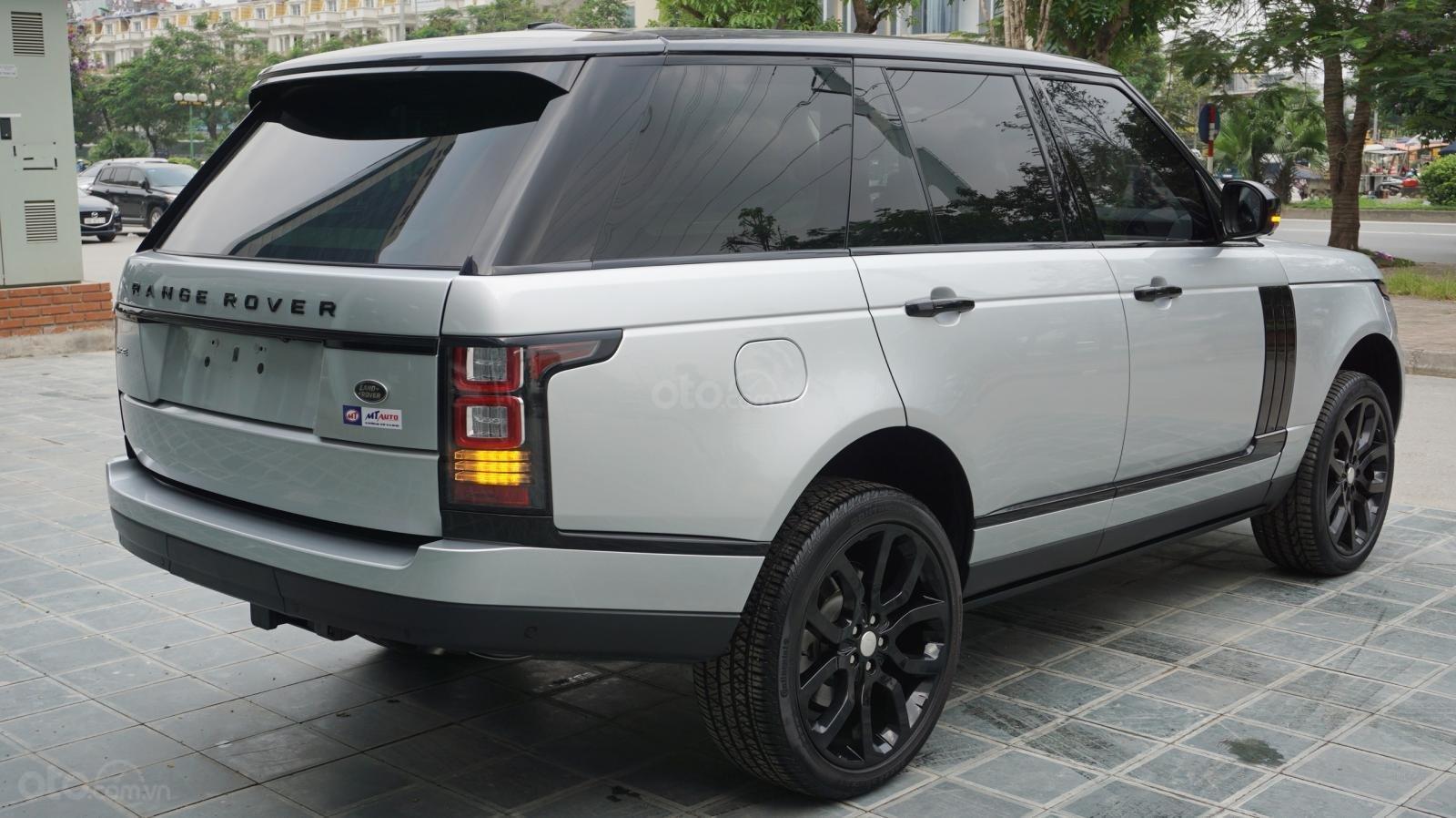 Bán LandRover Range Rover HSE 3.0 SX 2014, màu bạc, nhập khẩu nguyên chiếc-11