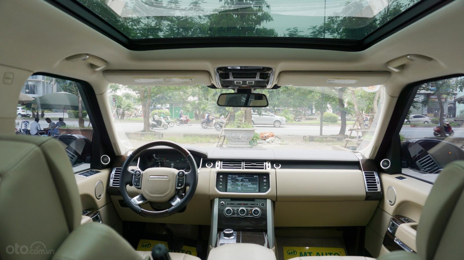 Bán LandRover Range Rover HSE 3.0 SX 2014, màu bạc, nhập khẩu nguyên chiếc-15
