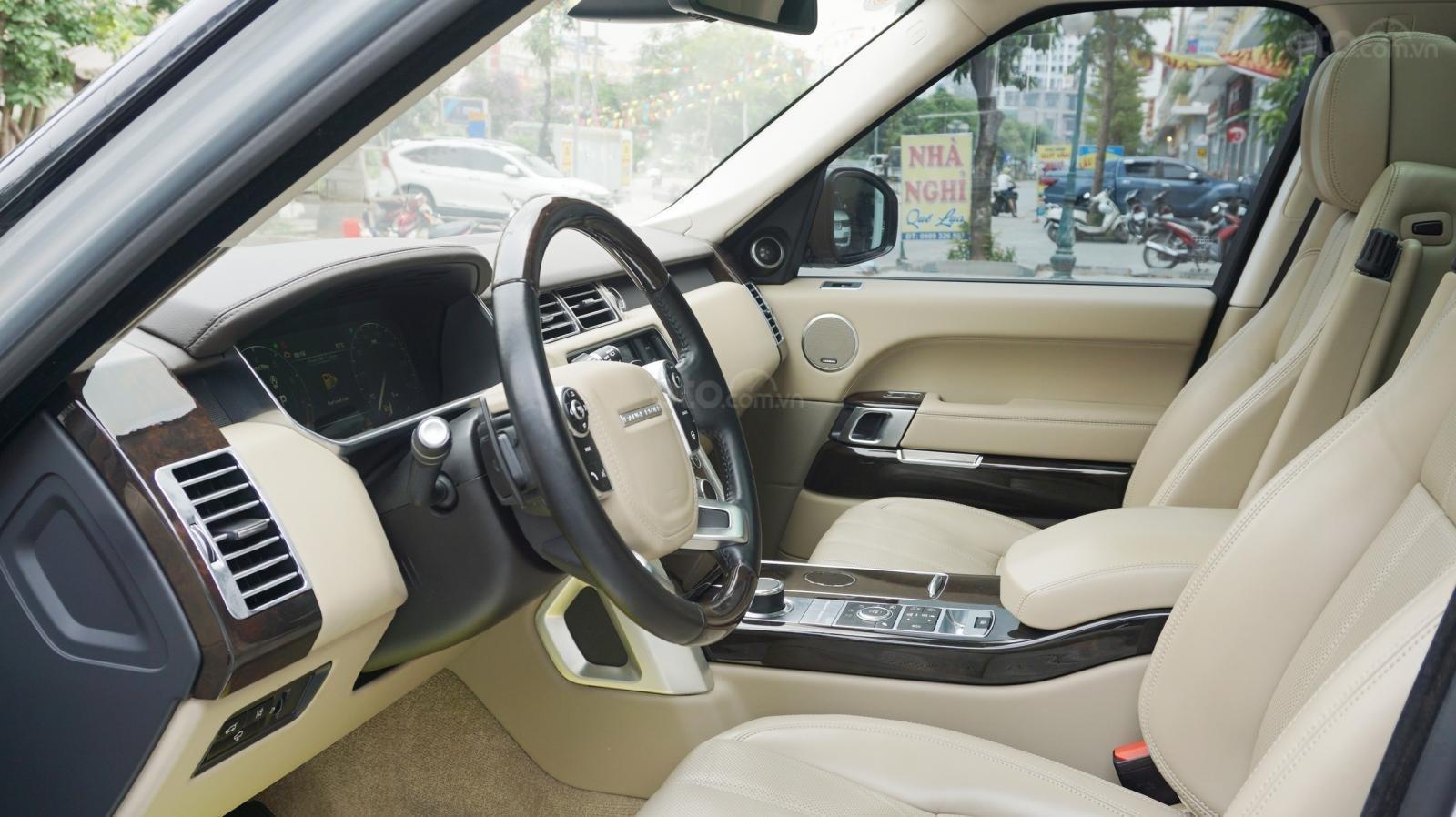 Bán LandRover Range Rover HSE 3.0 SX 2014, màu bạc, nhập khẩu nguyên chiếc-20