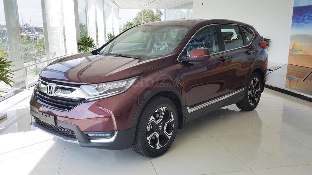 [Sài Gòn] Honda CRV TOP tháng 7 - Tặng BH 2 chiều, tiền mặt - 4xtr phụ kiện - Ưu đãi lớn, LH 0901.898.383-0