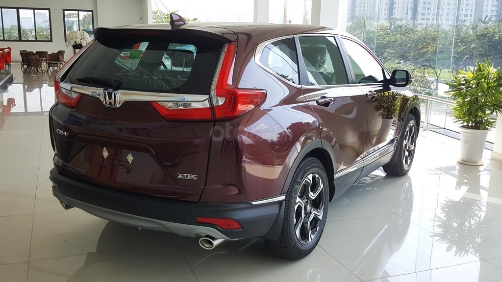 [Sài Gòn] Honda CRV TOP tháng 7 - Tặng BH 2 chiều, tiền mặt - 4xtr phụ kiện - Ưu đãi lớn, LH 0901.898.383-4