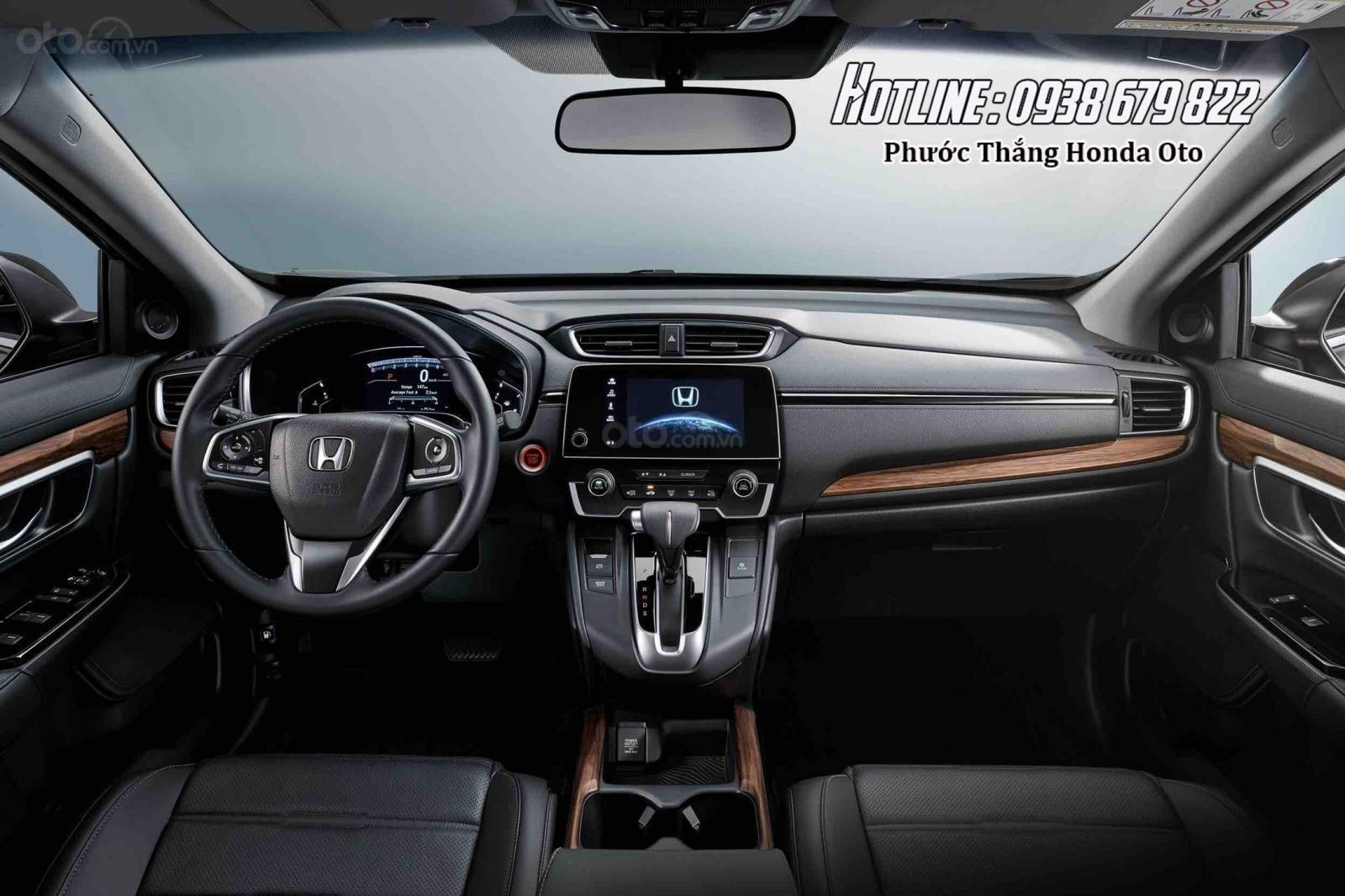 [Sài Gòn] Honda CRV TOP tháng 7 - Tặng BH 2 chiều, tiền mặt - 4xtr phụ kiện - Ưu đãi lớn, LH 0901.898.383-7