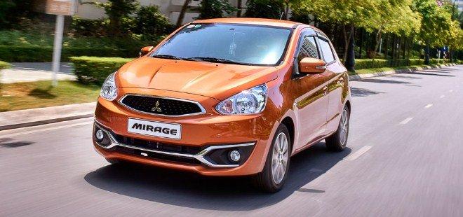 Giá xe Mitsubishi Mirage mới nhất.