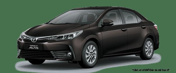Giá xe Toyota Corolla Altis mới nhất.