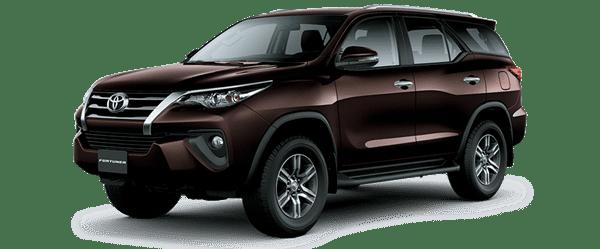 Giá xe Toyota Fortuner mới nhất.