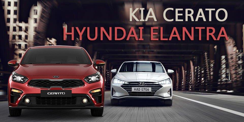 So sánh xe Hyundai Elantra 2019 và Kia Cerato 2019: chọn xe Hàn hạng C nào cho đúng?.