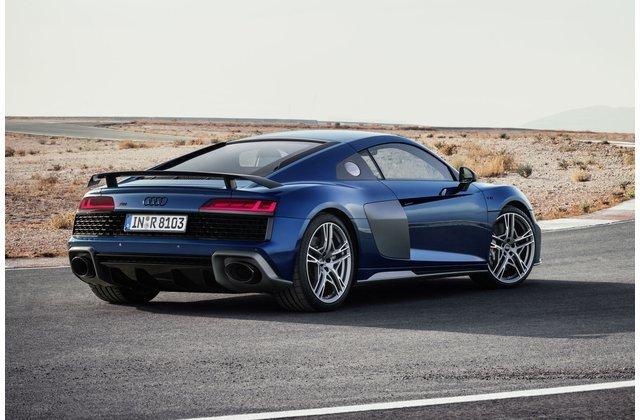 Đuôi xe Audi R8 2020