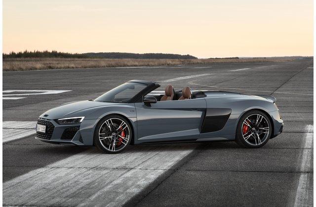 Thiết kế ngoại thất ấn tượng của Audi R8 2020.