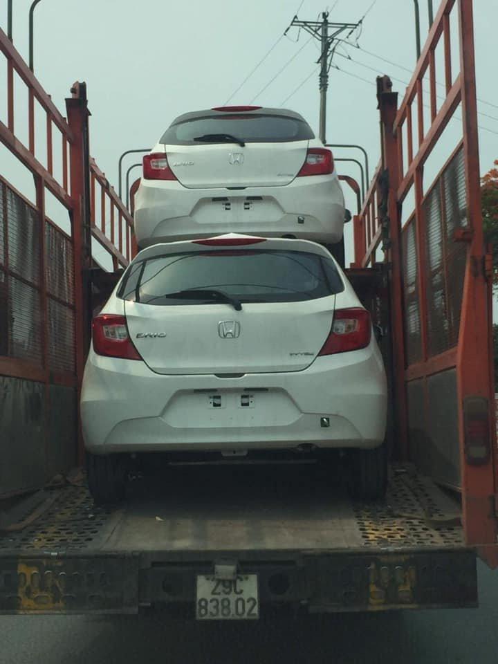 Lộ ảnh Honda Brio 2019 trên đường về đại lý, sắp ra mắt Việt Nam a2