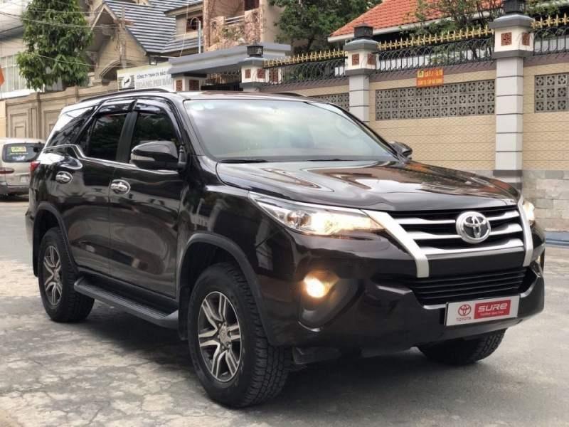 Cần bán Toyota Fortuner G 2.4MT sản xuất năm 2017, màu đen, nhập khẩu nguyên chiếc số sàn-0