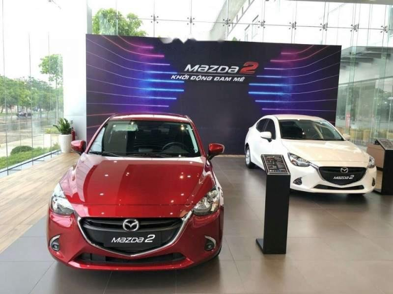 Bán Mazda 2 đời 2019, màu đỏ, nhập khẩu, mới 100%-4