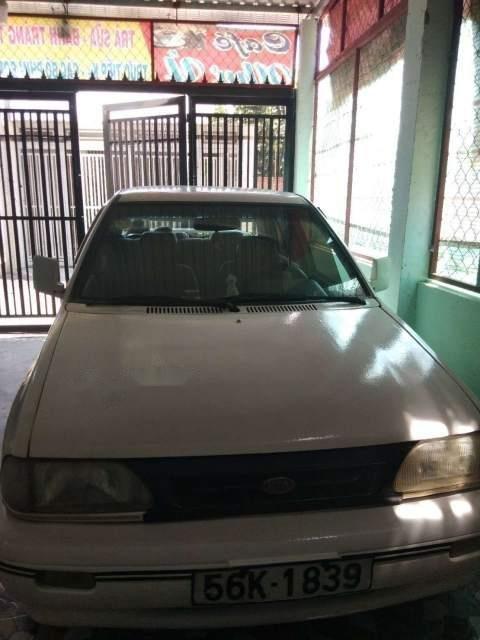 Cần bán xe Kia Pride 1.2 năm sản xuất 2002, màu trắng, xe nhập-1