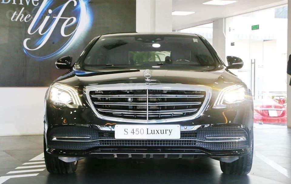Xe ô tô Mercedes S450 Luxury cao cấp: Thông số, giá lăn bánh, khuyến mãi (02/2020) từ Mercedes-Benz Sài Gòn (1)
