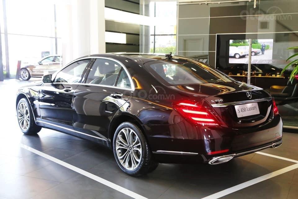 Xe ô tô Mercedes S450 Luxury cao cấp: Thông số, giá lăn bánh, khuyến mãi (02/2020) từ Mercedes-Benz Sài Gòn (7)