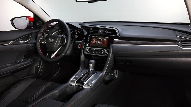 Khoang cabin Honda Civic RS 2019...