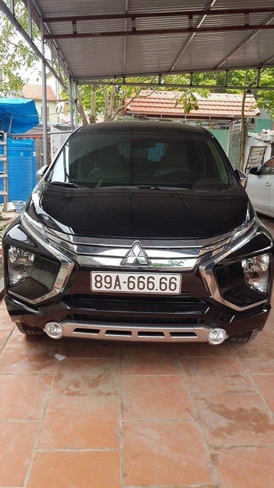 Mitsubishi Xpander bất ngờ bấm được biển 89A-666.66 tại Hưng Yên a1