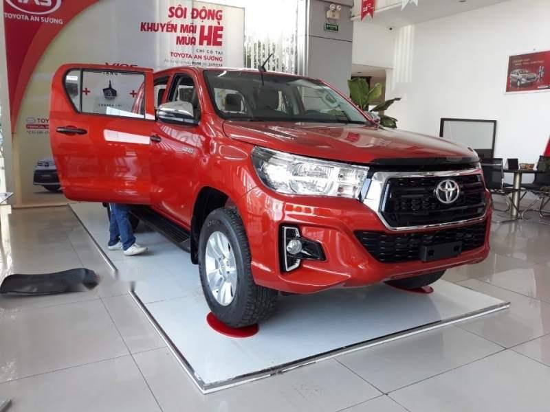 Bán Toyota Hilux 2.4 2019, màu đỏ, xe nhập-3