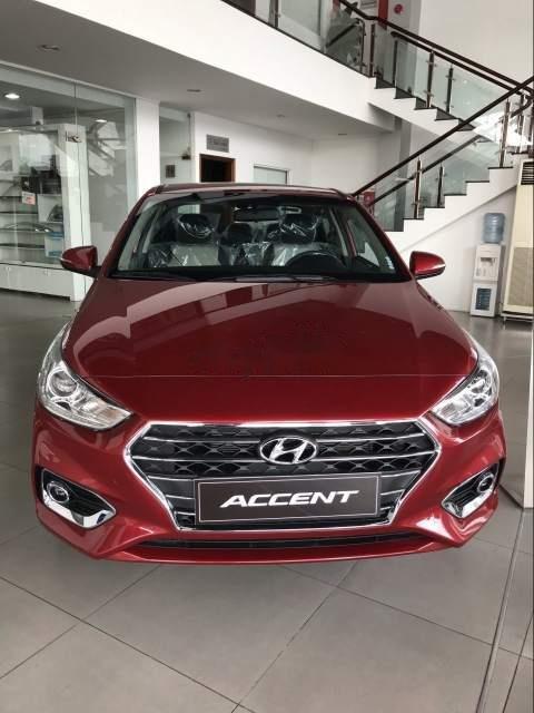 Bán Hyundai Accent AT đời 2019, màu đỏ, xe nhập, giao ngay-1