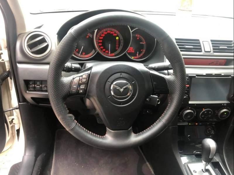 Bán Mazda 3 năm sản xuất 2009, màu trắng, nhập khẩu nguyên chiếc chính chủ, giá 380tr-3