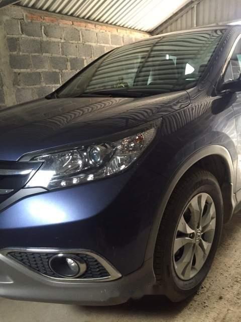 Cần bán xe Honda CR V sản xuất năm 2013, màu xanh lam, nhập khẩu  -3