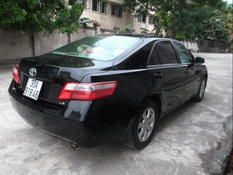Bán Toyota Camry LE sản xuất 2007, màu đen, nhập khẩu  -1