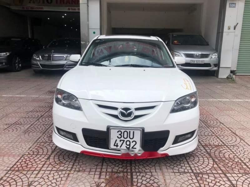 Bán Mazda 3 năm sản xuất 2009, màu trắng, nhập khẩu nguyên chiếc chính chủ, giá 380tr-0