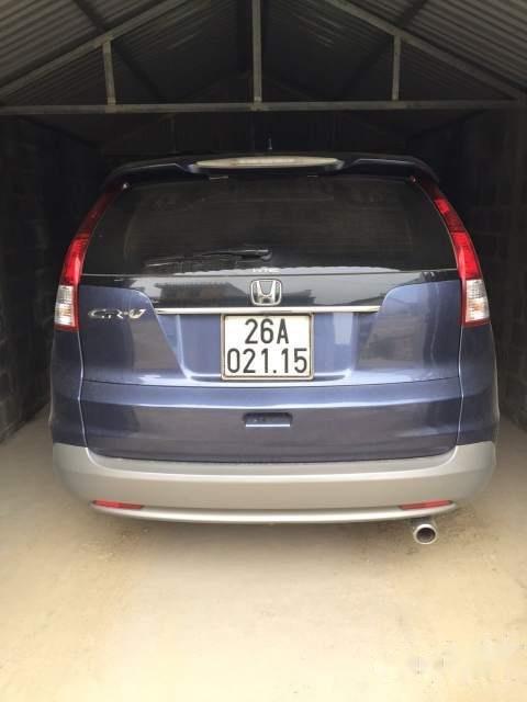 Cần bán xe Honda CR V sản xuất năm 2013, màu xanh lam, nhập khẩu  -1