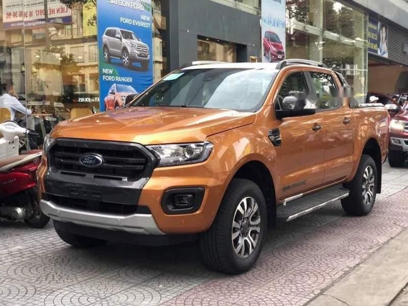 Bán ô tô Ford Ranger Wildtrak 2.0 Bi Turbo sản xuất 2019, nhập khẩu, tặng tiền mặt lên 40tr-0