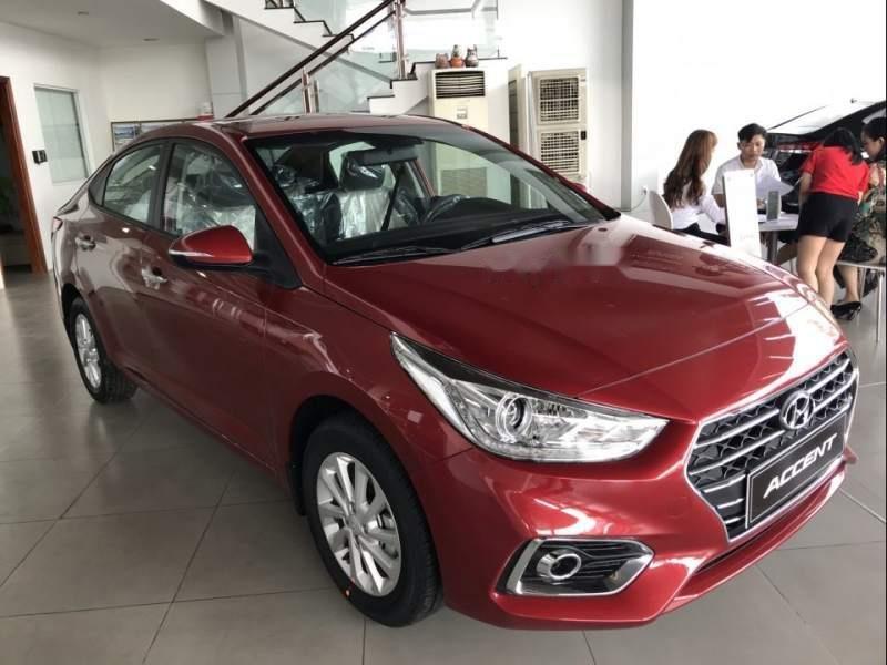 Bán Hyundai Accent AT đời 2019, màu đỏ, xe nhập, giao ngay-0