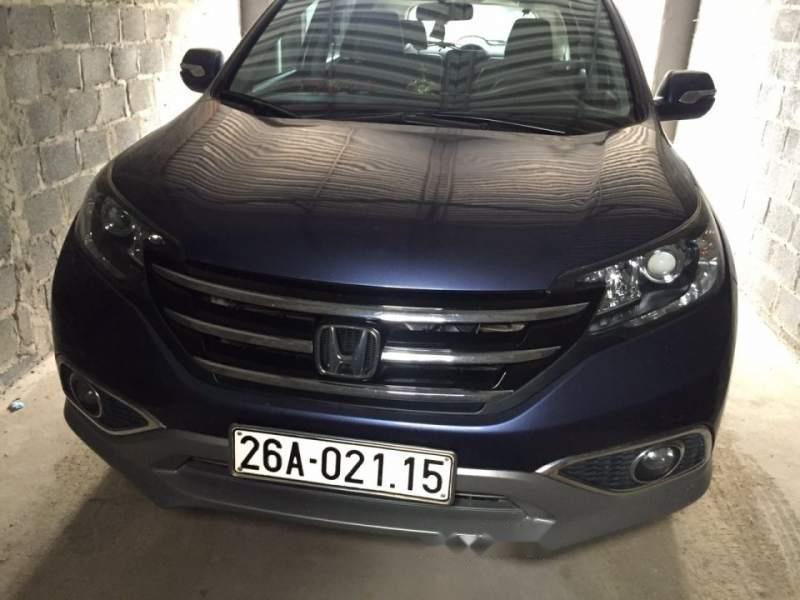 Cần bán xe Honda CR V sản xuất năm 2013, màu xanh lam, nhập khẩu  -0