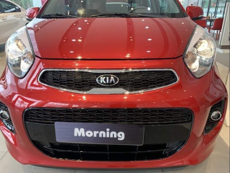 Bán xe Kia Morning 2019, màu đỏ, giá chỉ 346 triệu-0